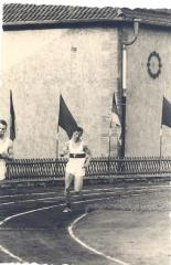 Bernd Friedberger, Deutsche Junioren Meisterschaft 1967 in Cottbus 200m Lauf Platz 4